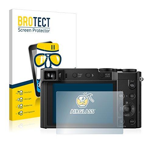 brotect Protection Ecran Verre Compatible avec Panasonic Lumix DMC-TZ100 Film Protecteur Vitre 9H Anti-Rayures, AirGlass