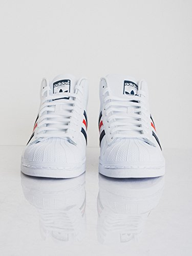 adidas Promodel, Chaussures Montantes Homme ftwr white/collegiate navy/red
