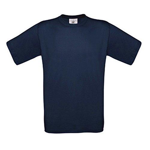 5er PACK T-Shirt mit kurzem Ärmel, Rundhalsbund. T-Shirt aus 100% ringgesponnener Baumwolle Weiß