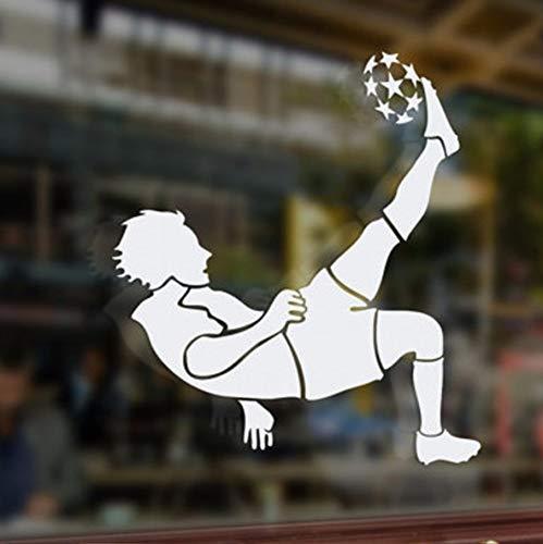 Spielen Fußball Wandaufkleber Für Kinderzimmer Dekorationen Für Home Kunstdrucke Sport Wandtattoos Für Jungen Zimmer 44X47 Cm