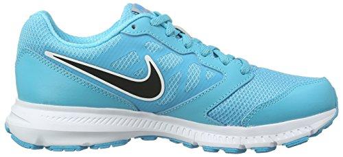 Nike Wmns Downshifter 6 Scarpe da Ginnastica, Donna Blu (Azul (Gamma Blue / Blck Mtllc Slvr Wht))
