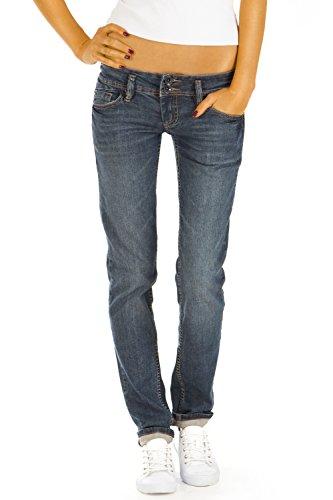 Bestyledberlin Damen Jeans Hosen Regular Fit Hüftjeans Gerades Bein Stretch j79kw 28/34
