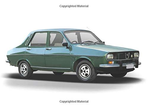 Renault 12: 120 pages with 20 lines you can use as a journal or a notebook .8.25 by 6 inches