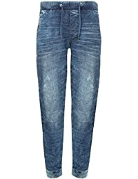 Blend Blizzard Fit Denim Stoffhose Dunkelblau