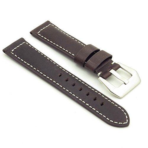 dassari-salvage-dark-brown-vintage-leather-watch-band-for-panerai-26-24-26mm