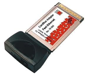 KALEA-INFORMATIQUE © - Carte Réseau PCMCIA Fast Ethernet CardBus