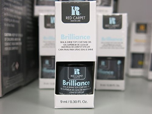 Red Carpet Manicure A-Z all Colours available here 9 ml LED Gel Polish (brilliance top coat) (Polish Gel Red Carpet Led)
