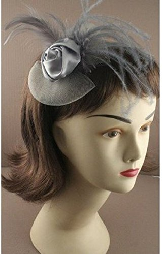 9061-narrow-satin-aliceband-satin-rosebud-net-feather-fascinator-wedding-races-grey