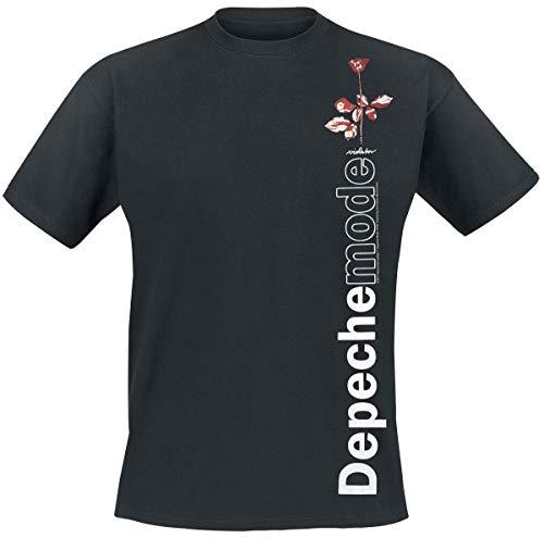 Depeche Mode Violator Side Rose Camiseta Negro L