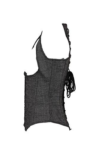 vlunt Damen Frauen fördert das Schwitzen Taille Training Slimming atmungsaktiv Elastische Korsett Siehe Abbildung