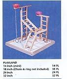 Acrobird PL 20 - Juguete para mascotas con 2 tazas y cadenas, 50,8 cm por Acrobird