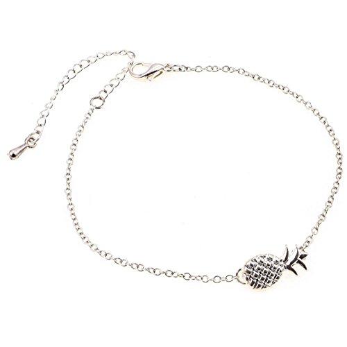 iTemer Frauen Armband Ananas Form Legierung Armband Schmuck Geburtstag Valentinstag Weihnachten Thanksgiving Geschenk Mode Heißer Verkauf Silber