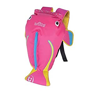 Trunki Kid's Water-Resistant Swim & Gym Bag – PaddlePak Coral (Pink)