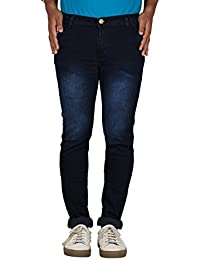 TYCON Slim Fit Mid Rise Patch Pocket Denim Jeans For Men