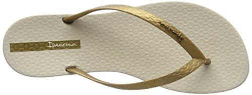 Ipanema Wave, Sandales Plateforme femme Beige (Beige/Gold)