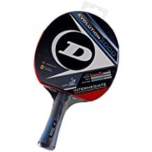 Dunlop Evolution 1000 Table Tennis Racket, Red/Black