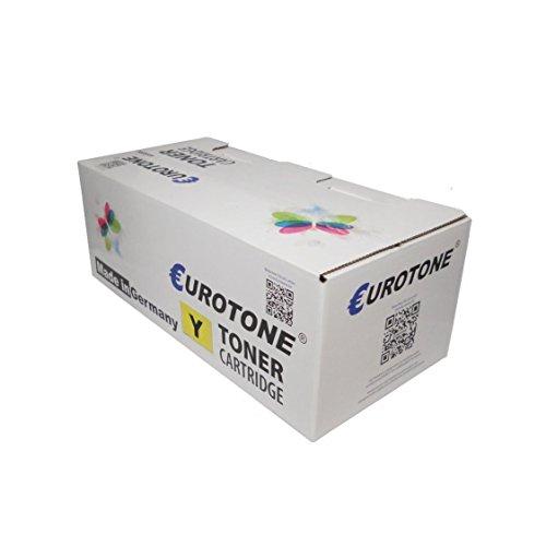 Galleria fotografica 1x Eurotone Cartuccia d'inchiostro per Canon LP 17 24 sostituisce PFI-102Y PFI102Y Giallo