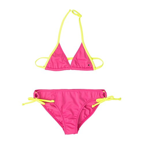 Undie-set (Tommy Hilfiger Mädchen Bikini Set (16 Jahren, Neon Rosa))