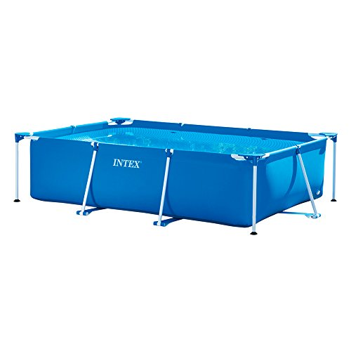 Intex 28272NP  Small Frame - Piscina desmontable, 300 x 200 x 75 cm, 3.834 litros, azul