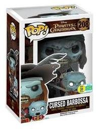 Funko Pop Barbossa embrujado (Piratas del Caribe 208) Funko Pop Disney