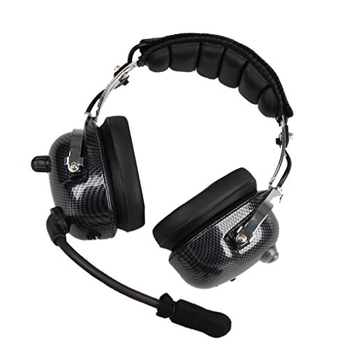 Bomcomi ANC Aviation Headset Kopfhörer Professionelle Active Noise Canceling Paraglider Racing Kopfhörer Noise Cancelling Aviation Headsets