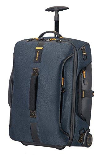Samsonite Paradiver Light Bolsa de Viaje con Ruedas, S (55Cm-48,5L), Jeans Azul