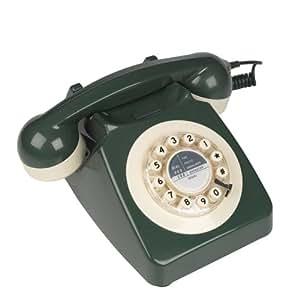 746 Classic Telephone - Green/Cream