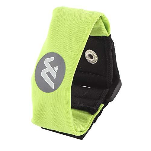Wwin Multi farbige Handgelenk Brieftasche/Sport-Armband passt für Männer Frauen - EIN identifizierbarer Sport Armband, perfekt für Veranstaltungen Laufen Fitness-Training Wandern Reisen - Grün