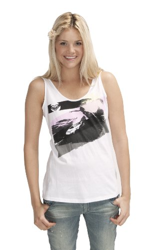 Roxy Wild at Heart T-shirt pour femme Blanc - Rock Your Soul Out White