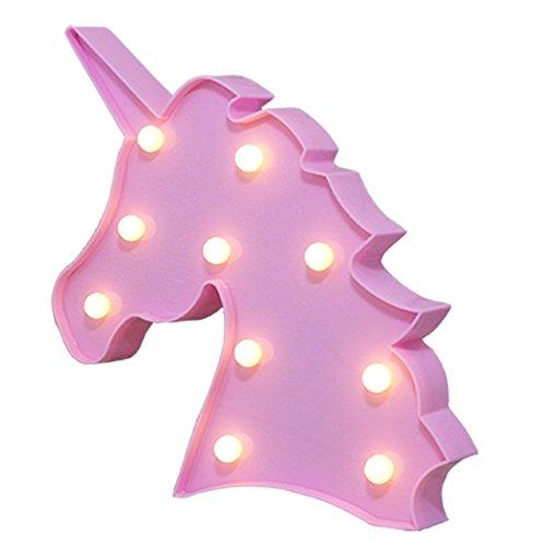 Preisvergleich Produktbild WSXXN Marquee Nachtlicht LED Schreibtischlampe Wandlampe Party Dekoration,  Geschenk für Kind,  Weihnachtsgeschenk
