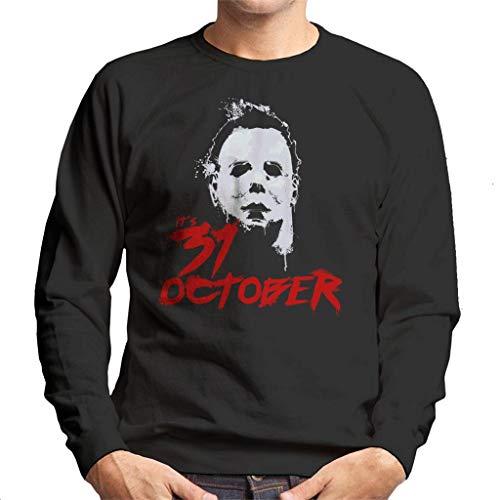 Cloud City 7 Halloween Michael Myers Its 31st October Men's Sweatshirt (Michael Myers Halloween-city)