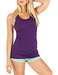 Bestyledberlin Damen Shirt, Tanktop Top´s t84p
