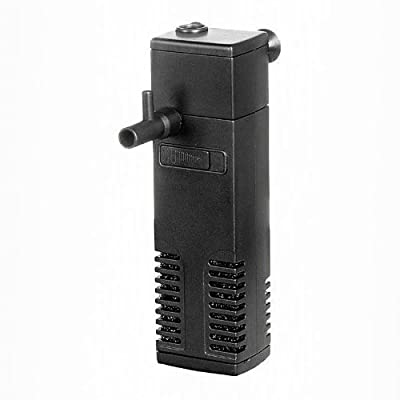 Hidom Aquarium 3w Internal Filter Pump with Spray Bar 200 LPH Filtration - AP300L