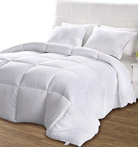 Utopia Bedding Légère Couette - Couette en Microfibre - Hypoallergénique - (Blanc 220 x 240 cm)