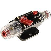 MagiDeal 12V-24V Inline Auto Leistungsschalter Audio Sicherung Circuit Breaker - 100a