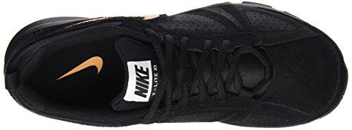 Nike Uomo T-lite Xi Nbk Scarpe Da Ginnastica Nero negro blk lsr Orng-white-mtllc Slvr