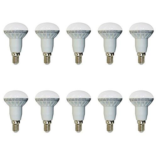 10-er SET, V-TAC, 4243, 6W, E14, SMD LED Reflektorlampe, R50, 2700K, Warmlicht, 400 lm, Abstrahlwinkel 120°, Nicht dimmbar, VT-1876.