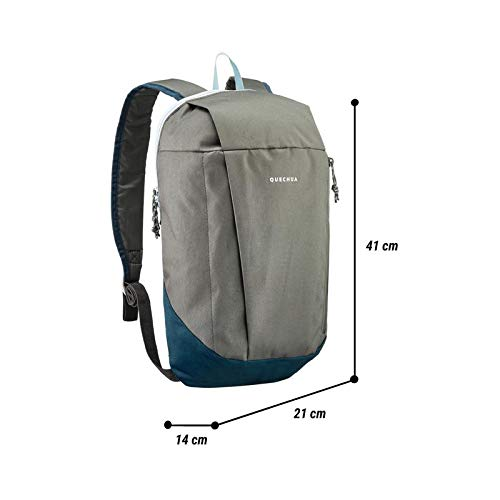 Decathlon Quechua Arpenaz 10 Ltr Backpack (Gray) Image 3