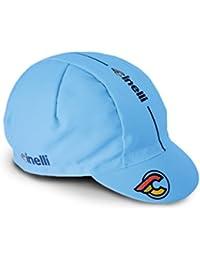 Cinelli Supercorsa - Gorra de ciclismo para hombre, color azul, talla única