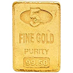Senco Gold 5gm, 24k Yellow Gold Chip