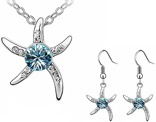 SaySure - Star Jewelry sets White Gold