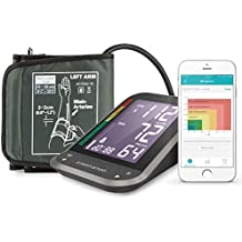1byone Tensiómetros de brazo eléctricos inalámbrica con App para Android e IOS, Pantalla LCD ,