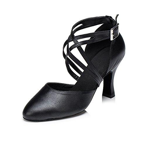 Miyoopark - Ballroom donna Black-8cm Heel