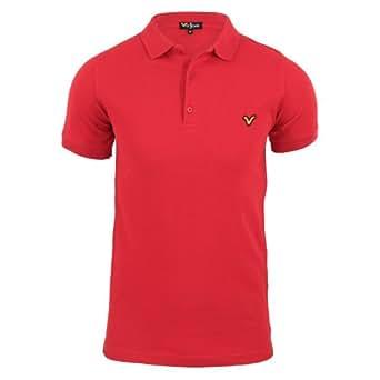 Voi - Redford Chemise Polo en cotton - Homme Tango Red XXX-Large
