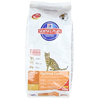 Hill's Cat Food Adult Chicken Dry Mix 10 kg 7