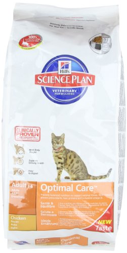 Hill's Cat Food Adult Chicken Dry Mix 10 kg 1