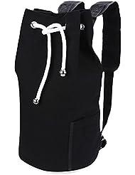 XXIAZHI,Mochila Portátil Sucker Canvas Bucket Fitness Bag para hombre