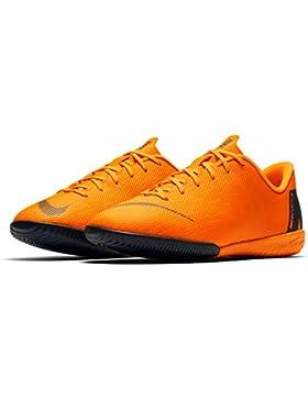 Nike Grade-School Kids Jr. VaporX 12 Academy (IC) Indoor/Court Football Boot Nº35