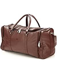 d8c7c698b9 MBOSS Faux Leather 30 Liter Unisex Single Travel Duffel Bag - TB SINGLE
