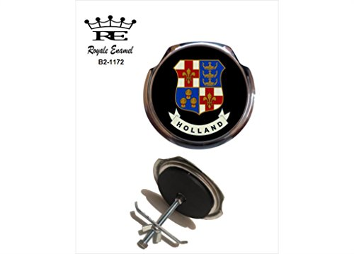 Preisvergleich Produktbild Royale Emaille Royale Car Grill Badge–Holland in Lincolnshire B2. 1172